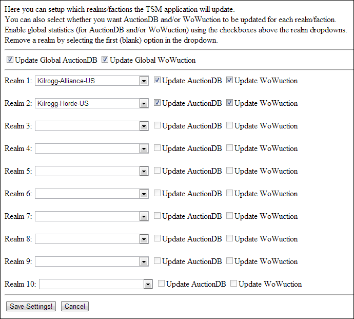 TradeSkillMaster Application (Beta) Preview