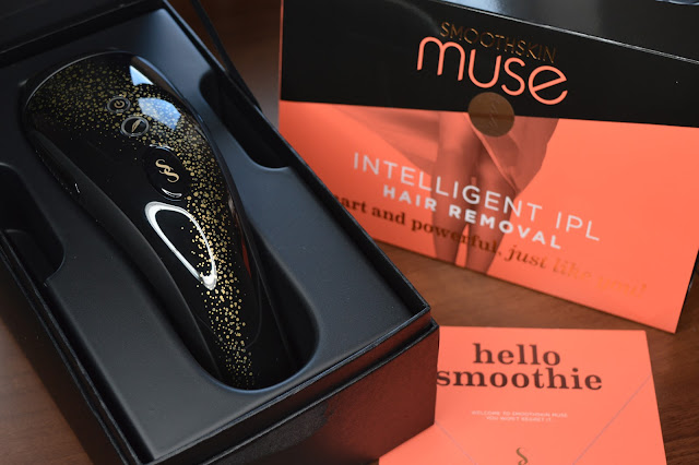 Smooth Skin Muse IPL Hair Removal Device