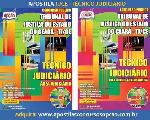 Apostila Concurso Público Tribunal de Justiça do Ceará - TJCE 2017.