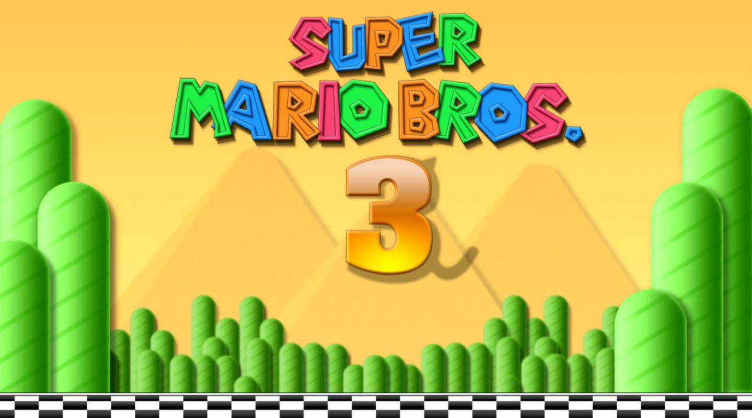 Super Mario Bros 3 Hd Wallpaper | Ucox Wallpapers