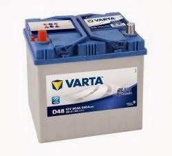 varta blue dinamik serisi oto aküsü fiyatları 12 volt 60 amper