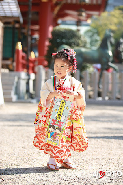西宮神社の七五三出張撮影