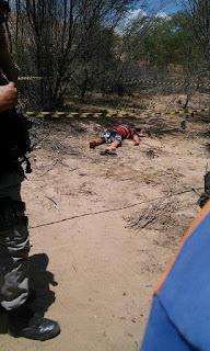 Jovem é assassinado com requintes de crueldades em Pedra Lavrada
