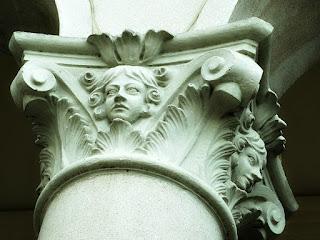 Detalhe de Coluna da Igreja das Dores, Santa Maria (RS)