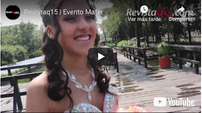 Video de evento de xv años en revistaq15