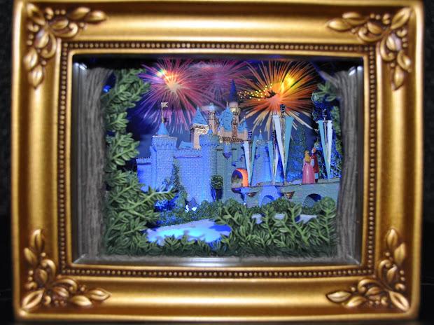 """Disney Pixar Fanatics Olszewski Of Light """"sleeping Beauty Castle"""""""