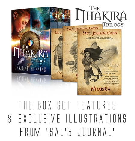 The Nhakira Trilogy - Illustrations