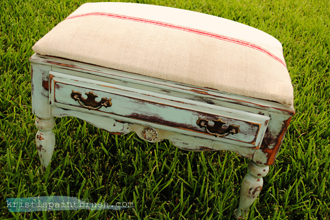 Layering Paint for an Antiques Effect