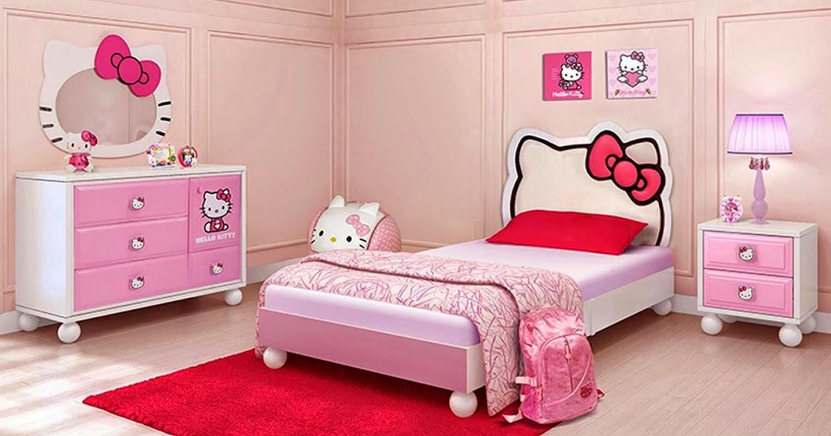 jasa pembuatan kamar anak tema hello kitty, gundam, dan ...