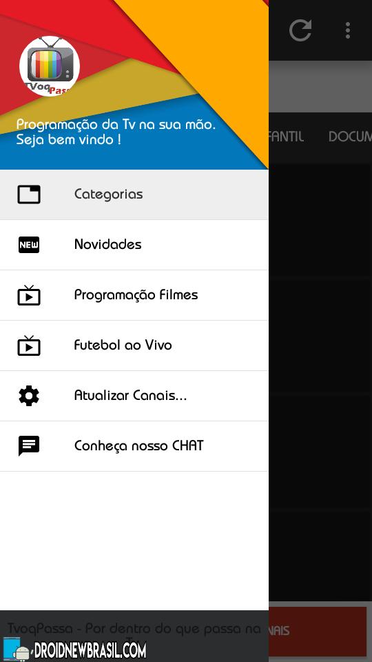 Curta seu app | Droid New