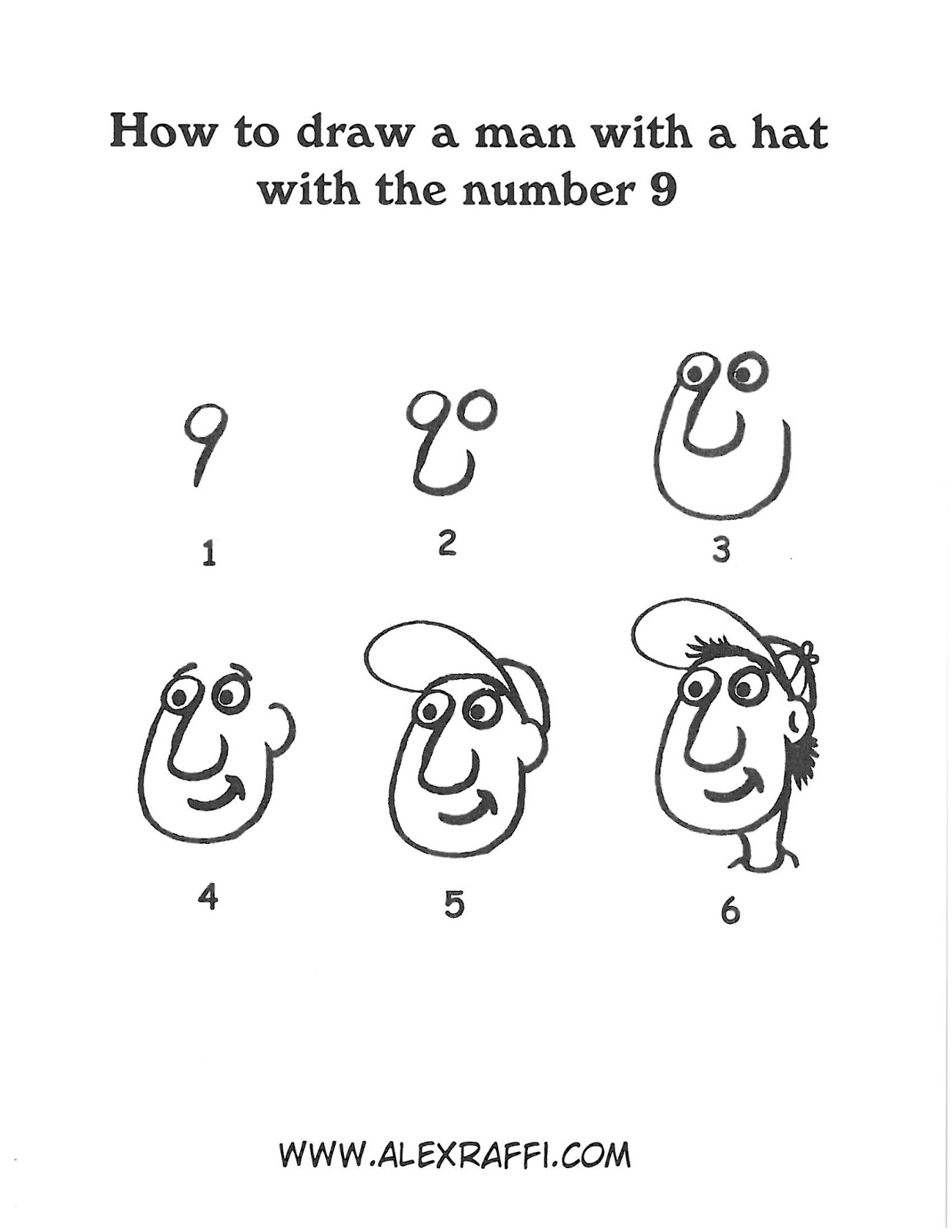 Alex Raffi Blog Drawing With Numbers