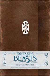 Fantastic Beasts And Where To Find Them: Newt Scamander Hardcover Ruled Journal PDF