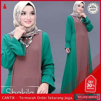 Jual RRJ209D148 Dress Shakila Maxy Wanita Mc Terbaru Trendy BMGShop