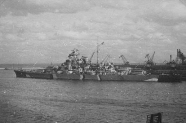 Battleship Bismarck 18 May 1941 worldwartwo.filminspector.com