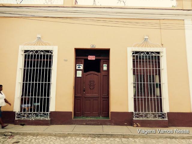 Vista externa do Hostal Buri Y Nesti, Trinidad Cuba