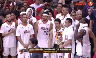 Meralco Bolts 1st Runner-up