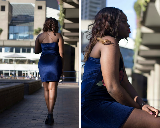 blue velvet mini dress ebay