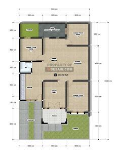 Desain Rumah Ukuran 9x15 3 kamar