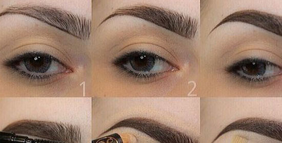 Tutorial for Smooth and Natural Eyebrows |Beautiful Girls ...