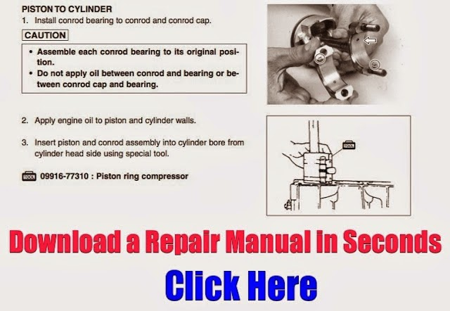 DOWNLOAD 50HP OUTBOARD REPAIR MANUAL July 2014