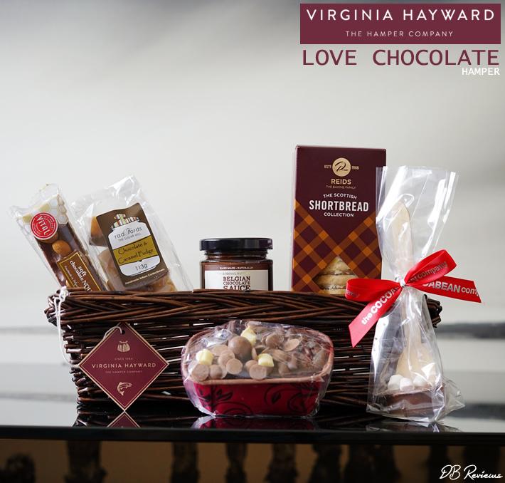 Virginia Hayward Love Chocolate Hamper