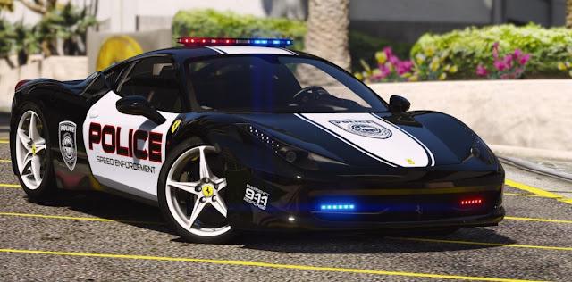 Mobil Polisi di Indonesia