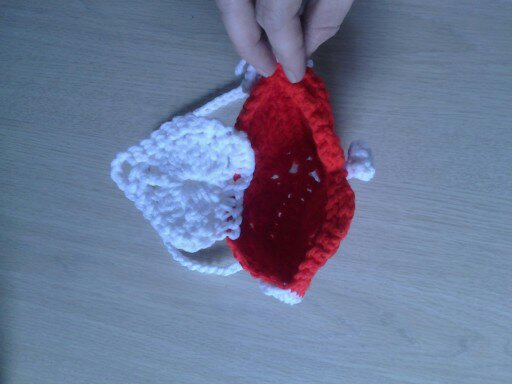 crochet, heart, purse, liner