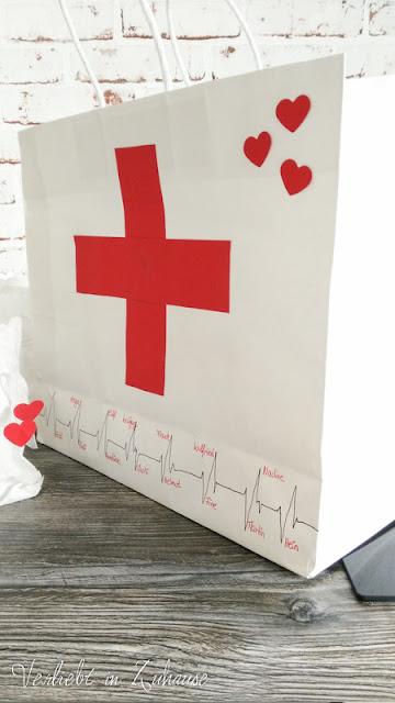 Originelles Geldgeschenk DIY für Krankenschwester