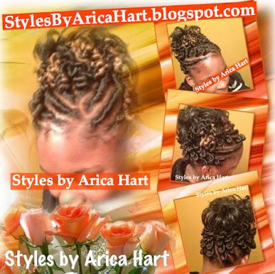 Stuffed twist, hairstyles for black women