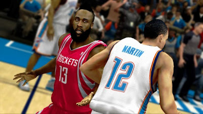NBA 2K13 Roster Kevin Martin & James Harden Trade