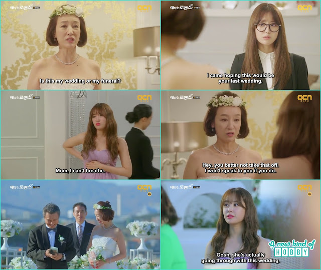 Yoo Mi come at her mother second wedding and her mother forcefully put bra pads in her bra - My Secret Romance: Episode 1