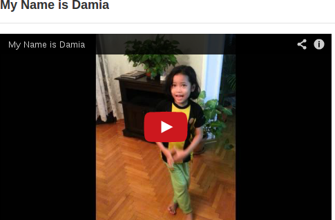 My Name Is Damia