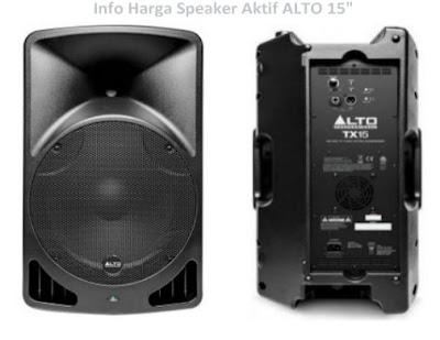 Harga speaker sound system Alto