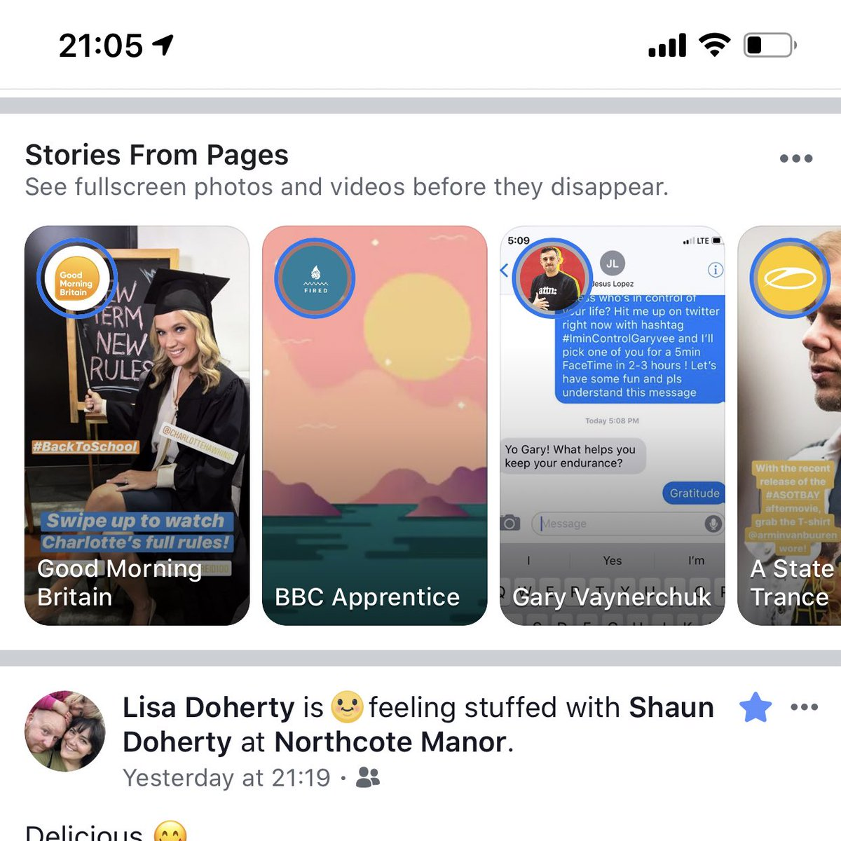 Facebook is Working on a new in-Feed Panel for Page Stories