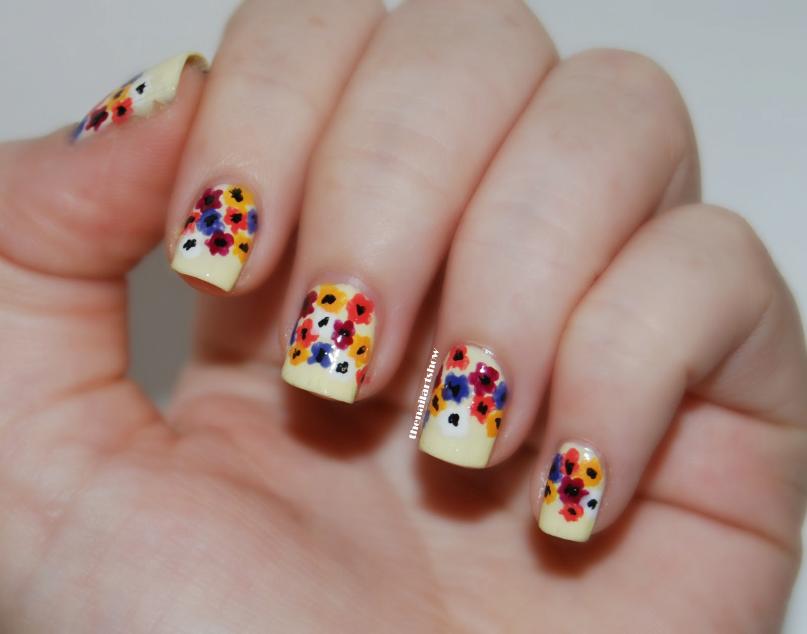 June Nail Art Challenge  Day 4: Flowers | The Nail Art Show