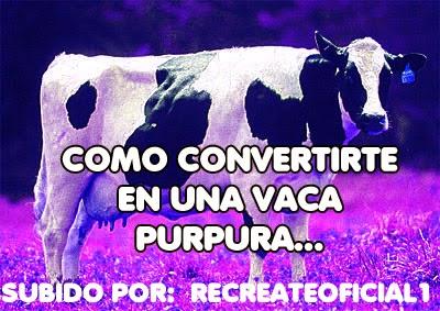 La Vaca Purpura Pdf