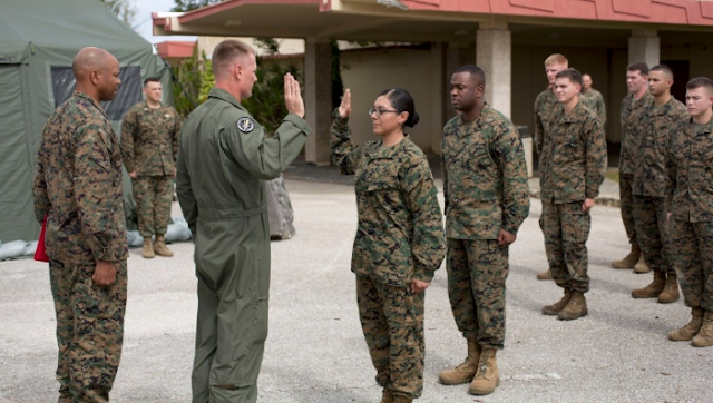 Trailblazing female who became infantry Marine is getting kicked out for fraternization