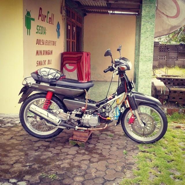 gambar motor ex5 cantik, gambar motor ninja, gambar motor rxz,