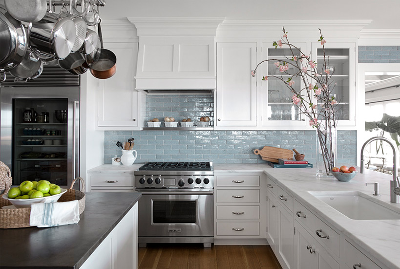 Beautiful kitchen by Carrier and Company design