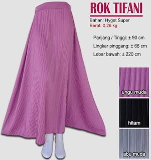 Rok prisket model payung - tifani