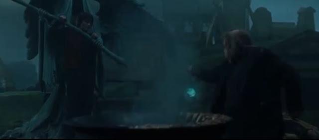 harry potter lọt vào nghĩa địa của Tom Riddle