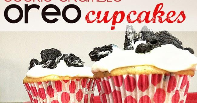 Eye Candy Creative Studio: RECIPE :: Cookie Crumble OREO Cupcakes