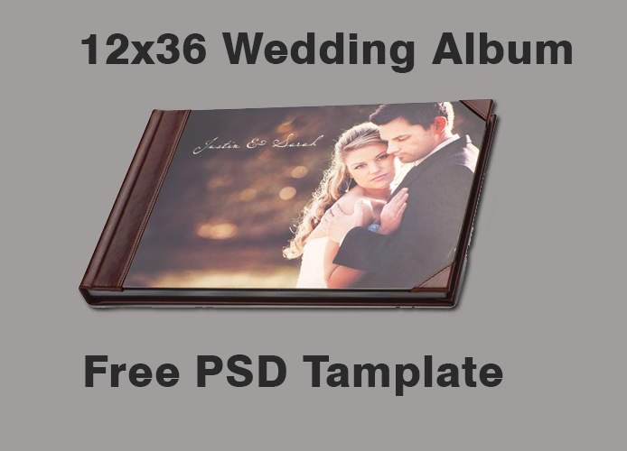 Free 12x36 Wedding Album Tamplate Download