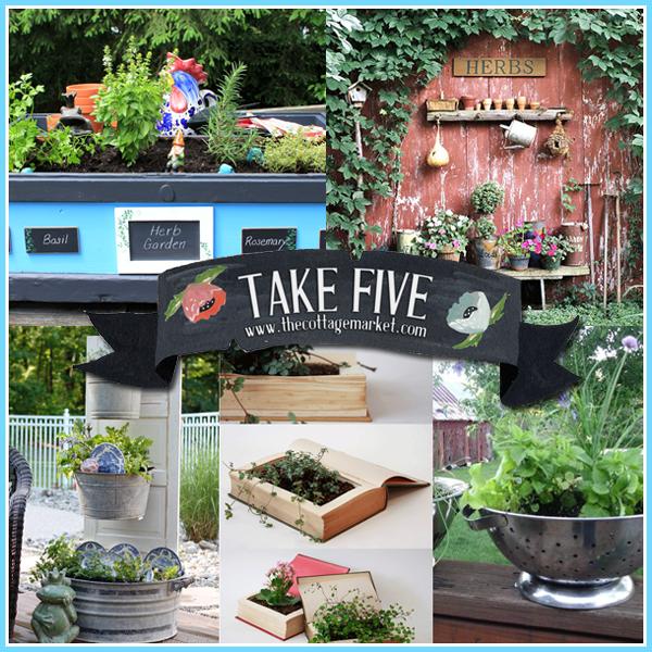 Take Five Wonderful Herb Garden With An Update