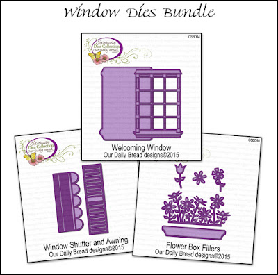 Our Daily Bread Designs July 2015 Window Dies Bundle