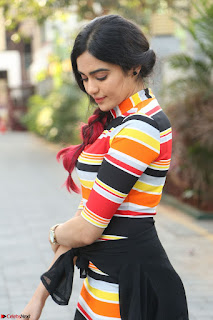 Adha Sharma in a Cute Colorful Jumpsuit Styled By Manasi Aggarwal Promoting movie Commando 2 (59).JPG