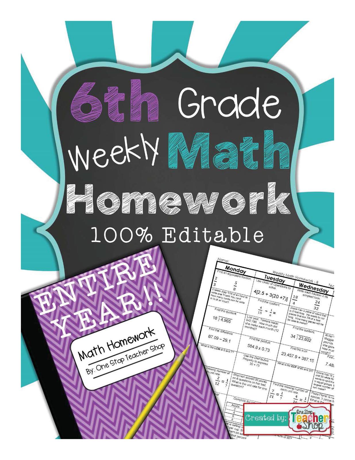 Year 6 homework help
