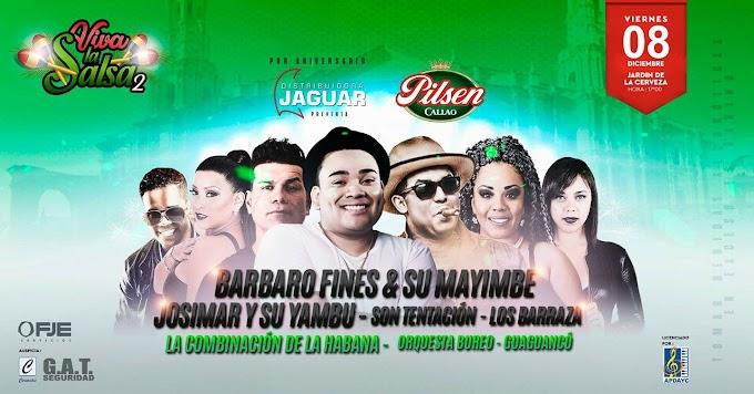 Viva La Salsa, Segunda edición - 08 de diciembre
