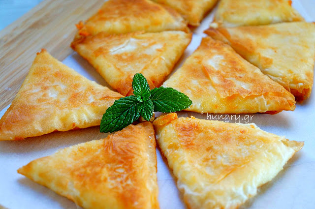 Cheese Filo Triangles
