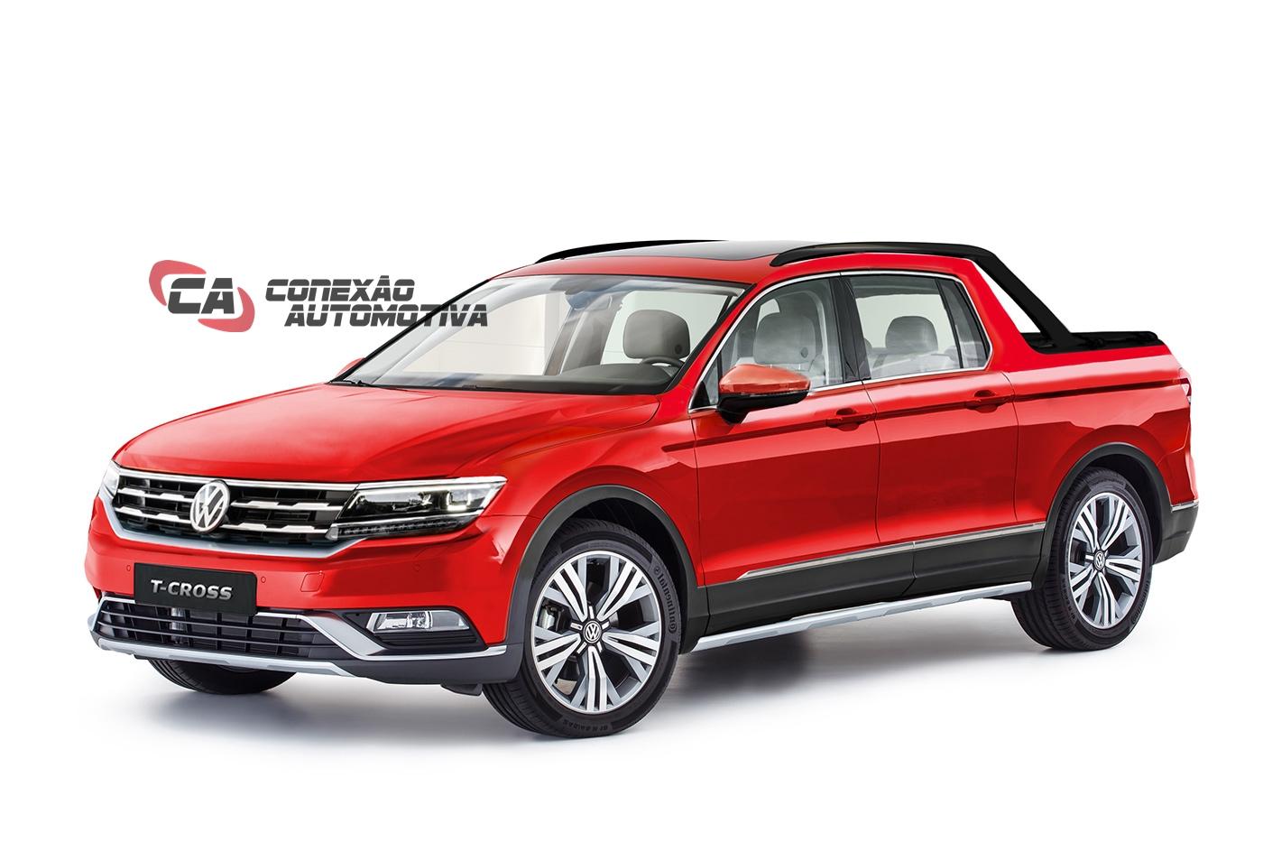 Volkswagen Tharu Pode Ser A Nova Picape Da Marca Que Deve